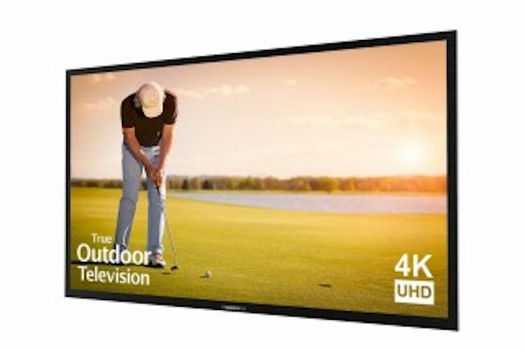 """Sunbrite 65"""" Signature Outdoor Television SB-S-65-4K-BL with Cover"""