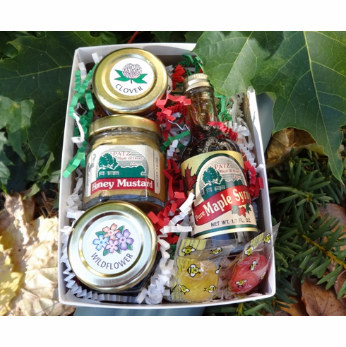 Gift Box-Maple Syrup & Honey Sampler
