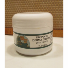 Propolis Derma Cream w/Honey, 2 fl. oz.