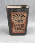 19th C. Quart of Nye's Sperm Oil
