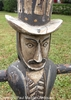Antique Folk Art Uncle Sam Whirligig Sculpture