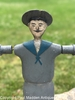 Nantucket Sailor Boy Whirligig by Frederick Ray