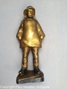 "Vintage 15"" Old Salt Doorstop with Rare Gold Finish by Eastern Specialty"