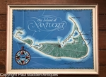 Vintage Map of Nantucket by Roy Clifford Smith 1948