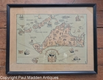 Vintage Martha's Vineyard Map - Tercentenary 1930