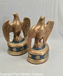 Vintage Pair of Eagle Bookend - Marion Brothers