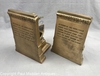 Vintage Pair of Harpooner Bookends