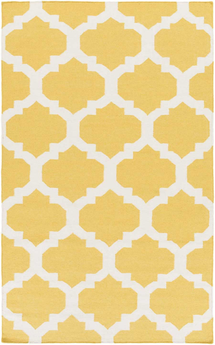 artistic weavers york harlow awhd1035 yellow white area rug payless rugs york collection by. Black Bedroom Furniture Sets. Home Design Ideas