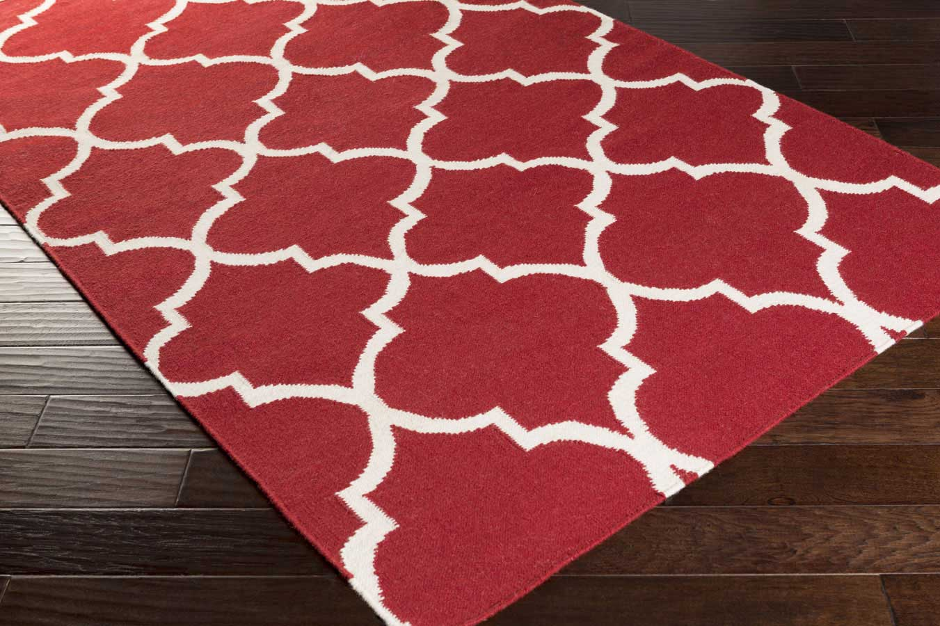 artistic weavers york mallory awhd1014 red white area rug