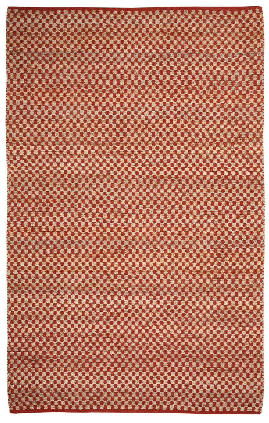 Capel checkered 6507 850 clay area rug payless rugs checkered collection by capel capel - Checkerboard area rug ...