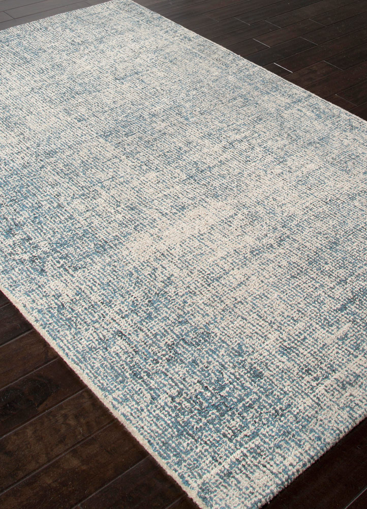Jaipur britta brt03 white ice and blue print rug britta for Blue and white carpet