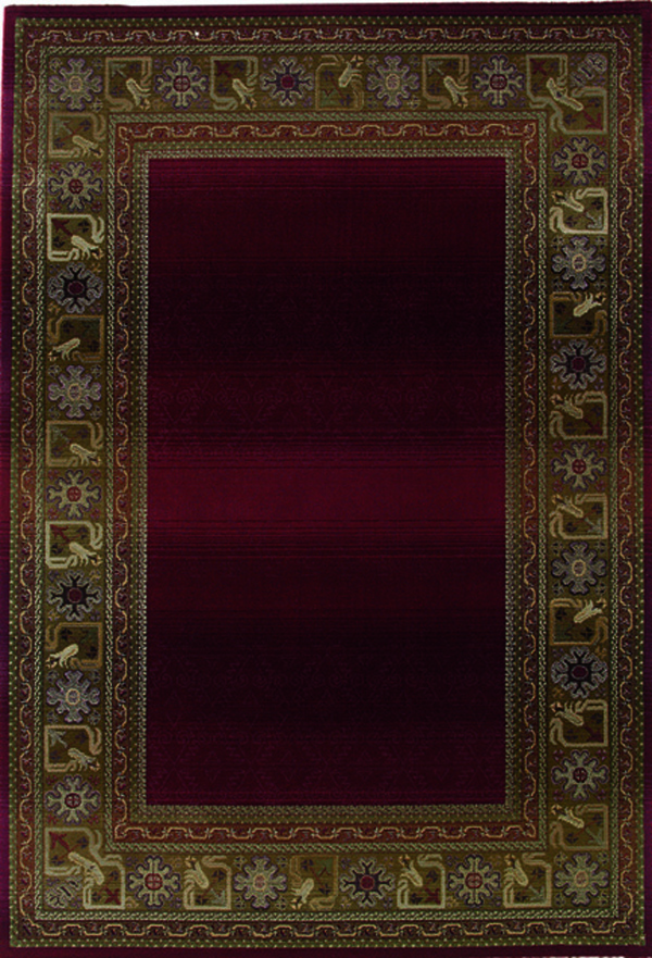 oriental weavers sphinx generations 3436r dark red area