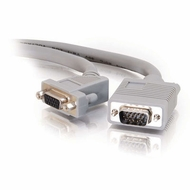 1 Foot Premium Shielded HD15 SXGA M/F Monitor Extension Cable with 45� Angled Female Connector