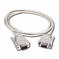 10 Foot DB9 Male / Female Null Modem Cable