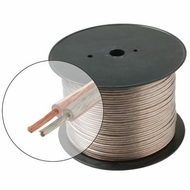 "100' 14 Gauge Copper Speaker Cable, 41x0.23mm 0.138"" OD"