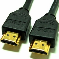 18 Inch High Speed w/Ethernet 28awg HDMI Cable - Black