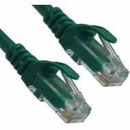 2 Foot Green CAT6 Ferrari Boot Network Patch Cable