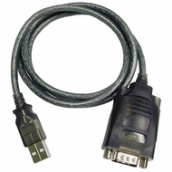 3 Foot USB to RS232 DB9 Serial Adapter Cable w/FTDI Chipset