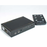 5 Way (5 In, 1 Out) HDMI Switch with IR Extension - supports 3D