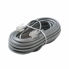 50 Foot RJ11 (6P4C) Modular Telephone Cable