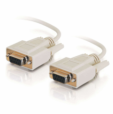 6 Foot Female / Female 9 Pin ( DB9 ) Serial Cable