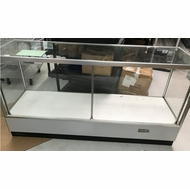 6 Foot Long Glass Cabinet