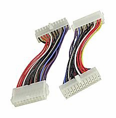 6 inch 20 Pin Power Supply to 24 Pin Motherboard Cable