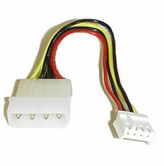 "6 inch 5.25"" to 3.5"" Internal Power Supply Adapter"