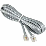 7 Foot RJ11 (6P4C) Modular Telephone Cable