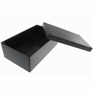 ABS Plastic Project Box 7.27 x 4.5 x 2.6 inch - Black