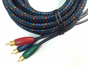 AudioQuest 4.5 Meter (15 feet) Braided Component Video Cable - Click to enlarge