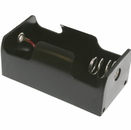 Battery Holder / Open Type for 1 D Battery with 6 inch 24AWG Lead