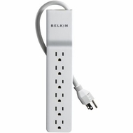 Belkin BE106000-04 6-Outlet Home/Office Surge Protector (4-ft cord)