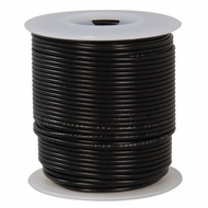 Black 100 Foot 20 AWG stranded hook-up wire