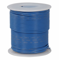 Blue 100 Foot 20 AWG stranded hook-up wire