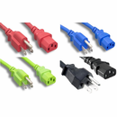 C13 to NEMA 5-15P Power Cords