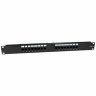 Cat5e 110 Type Patch Panel 16 Port Rackmount