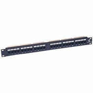Cat5e 110 Type Patch Panel 24 Port Rackmount