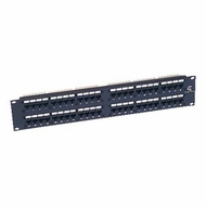Cat5e 110 Type Patch Panel 48 Port Rackmount
