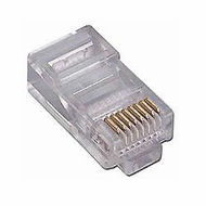 Network Ethernet Cable Modular Plug for Stranded wire 50 Pack