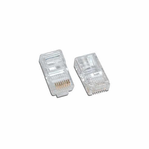 CAT5e Network Ethernet Cable Modular Plug for Solid wire 25 Pack