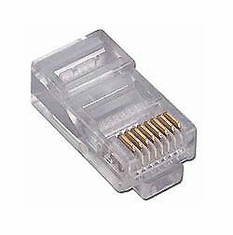 CAT5e Network Ethernet Cable Modular Plug for Stranded wire 10 Pack