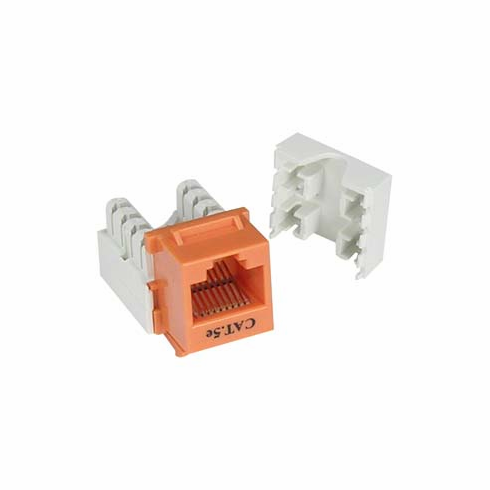 Groovy Cat5E Tool Type Rj45 Keystone Jack Orange Wiring Database Gentotyuccorg