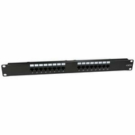 Cat6 110 Type Patch Panel 16 Port Rackmount