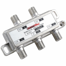 Channel Plus 2514 4 Way Splitter / Combiner w/ DC-IR Pass