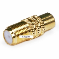 """""""F"""" Type Adapters (Coax)"""