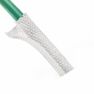 "F6 PET 5/16"" White Woven Wrap - Priced per foot"