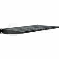 Gruber 1U Vented Cantilever Shelf - Black
