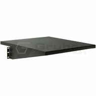 Gruber 34-105050 2U Deep Cantilver Shelf 3.5 x 18 x 19, Black