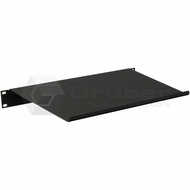 Gruber Stationary Angled Keyboard Shelf, Black